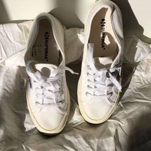 Super gay white sneakers